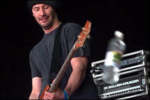 Keanu playing bass