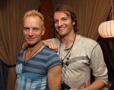 Sting y Joe Sumner