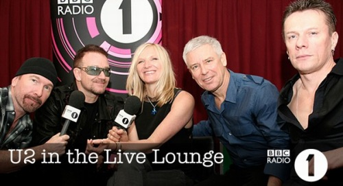 U2 & Jo Whiley