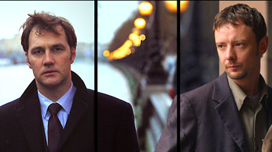 David Morrissey y John Simm en 'State of Play'