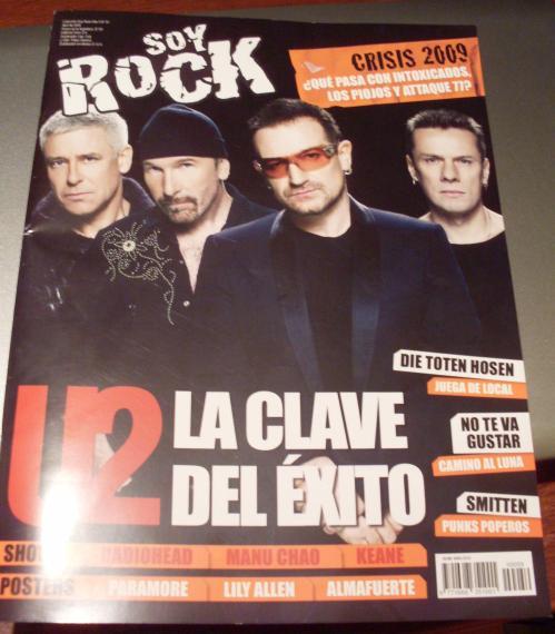 """U2 en la """"Soy Rock"""""""