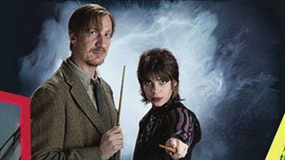 Lupin y Tonks