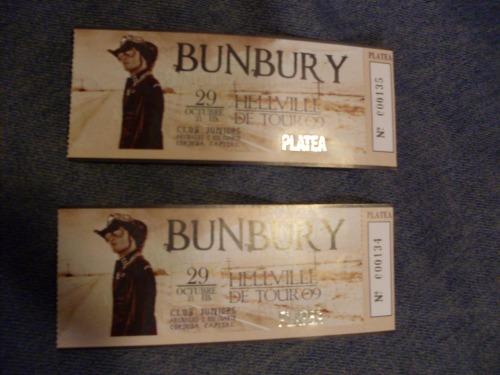 Entradas para Bunbury