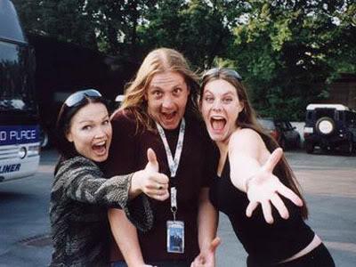 Tarja y Floor Jansen, hace varios años atrás.